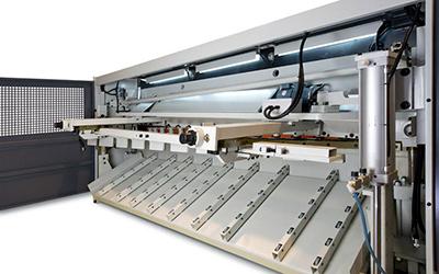 staal snijmachine guillotineschaar cs model lvd